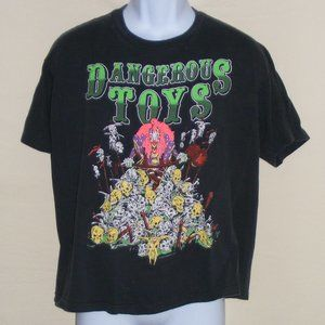 DANGEROUS TOYS Concert Tee, L/XL Bill Z Bubb 1989